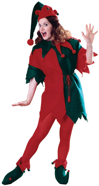 Women's Christmas Elf Costume
