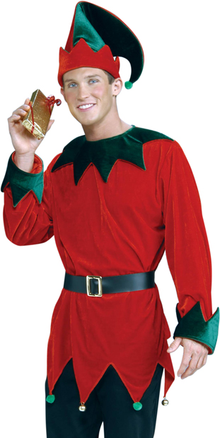 Adult Santa Helper Costume
