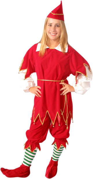 Santas Red Little Helper Costume