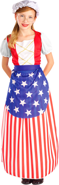 Child's Betsy Ross Dress Costume