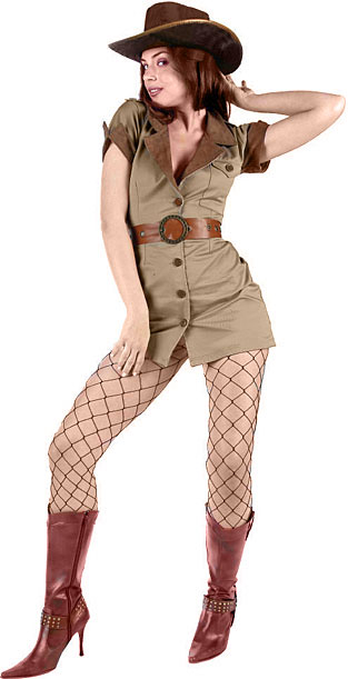 Sexy Safari Lady Costume