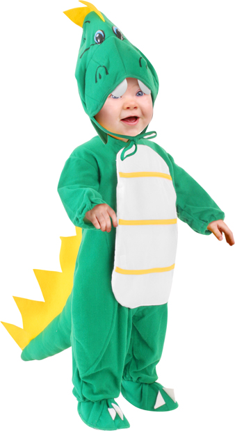 Baby Green Dragon Costume
