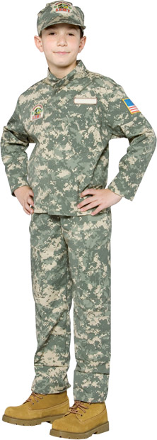 Child's US ARMY Uniform Costume