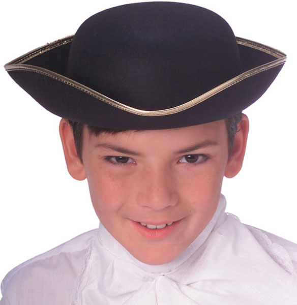Child's Tricorn Colonial Hat