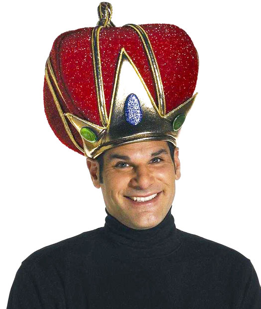 Red Royal King Crown Hat