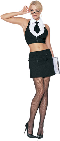 Sexy Secretary Outfit Costume