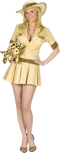 Women's Sexy Safari Costume