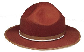 Child's Mountie Hat