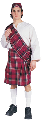 Adult Scottish Costume