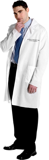 Dr. Howie Feltersnatch Gynecologist Lab Coat Costume
