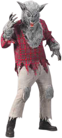 Adult Were Wolf Costume