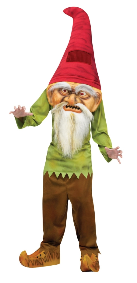 Boy's Giant Evil Gnome Costume