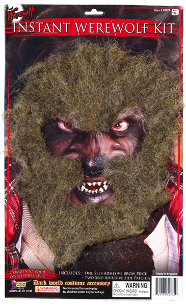 Easy Werewolf Costume Kit