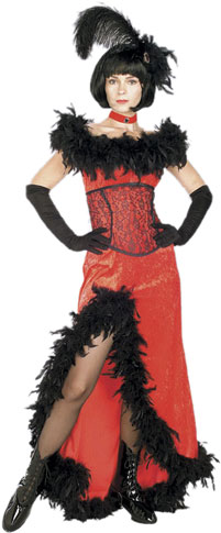 Adult Miss Kitty Costume