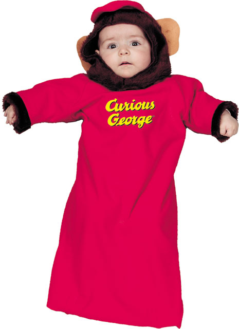 Curious George Baby Bunting Costume