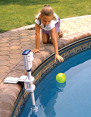 In-Ground Pool Alarm w/ Infrared Perimeter Detection