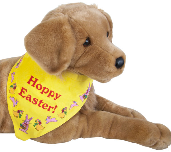 Happy Easter Dog Bandanna