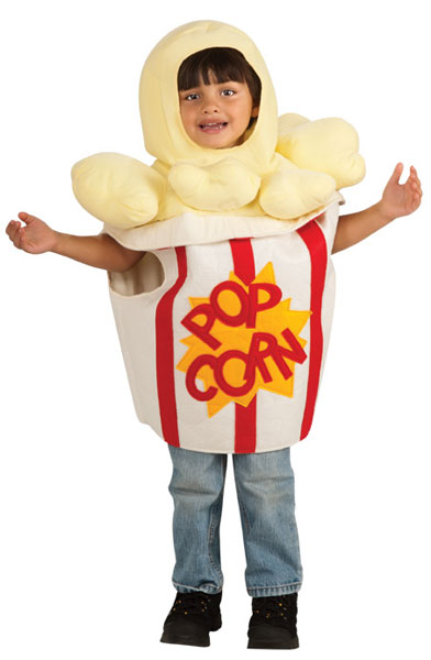 Toddler Popcorn Costume