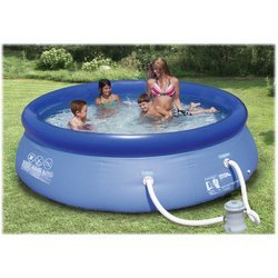 "Summer Escapes 10' x 30"" Quick Set Pool with 580 GPH Pump"