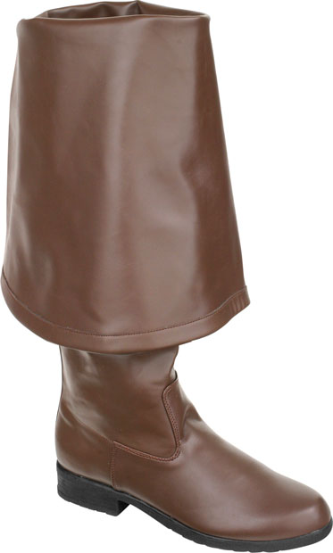Men's  Faux Leather Caribbean Pirate Boots