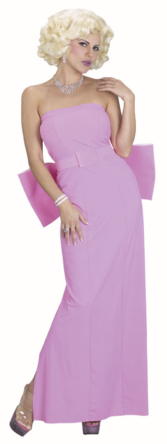 Pink Marilyn Monroe Dress Costume