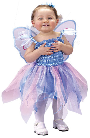 Toddler Blue Fairy Costume