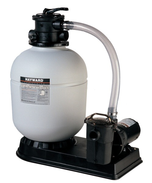 "Pool Sand Filter Sytem, 40 GPM, 14"" Filter Tank"