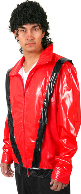 Adult Red Pop Star Jacket Costume