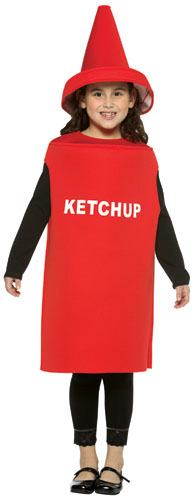 Child's Ketchup Bottle Costume