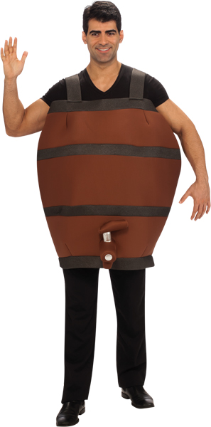 Funny Barrel Costume