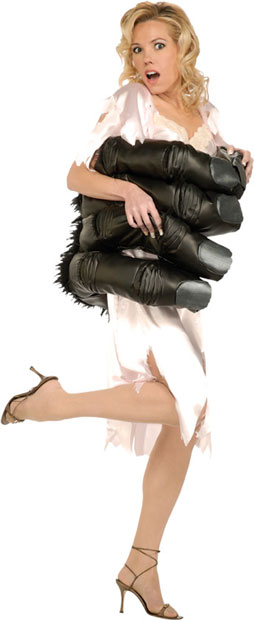 Adult Women's King Gorilla Hand Costume