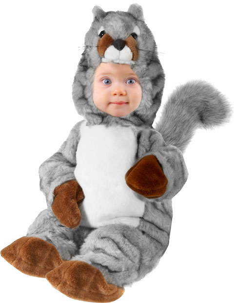Baby Squirrel Costume