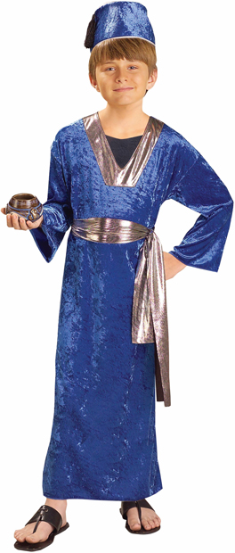Child's Blue Wise Man Biblical Costume