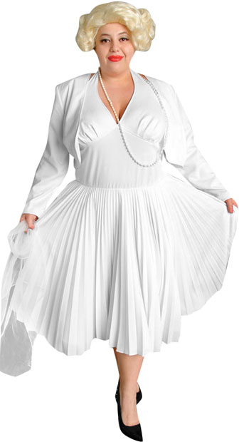 Plus Size Marilyn Monroe High Quality Costume