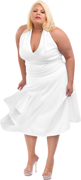 Plus Size Marilyn Dress Costume