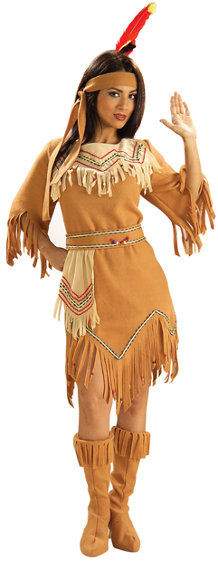 Adult Native American Sacagawea Costume