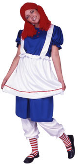 Adult Country Rag Doll Costume