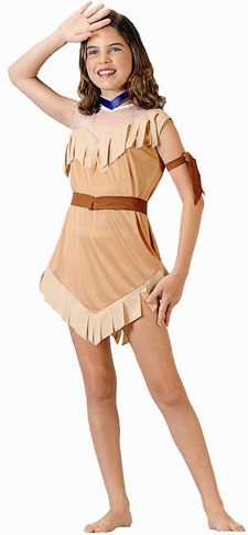 Child's Native American Girl Costume
