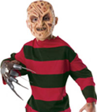 Child's Freddy Krueger Shirt & Mask