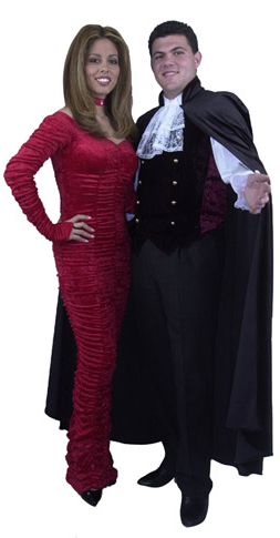 Formal Dracula Vampire Cape Costume