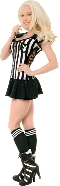Sexy Teen Playboy Referee Costume