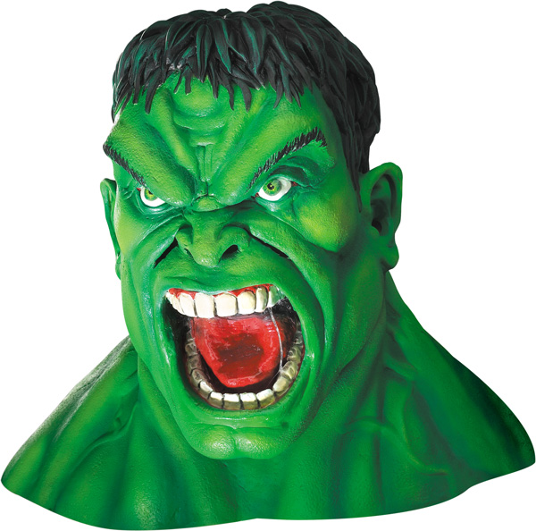 Adult Incredible Hulk Movie Costume Mask