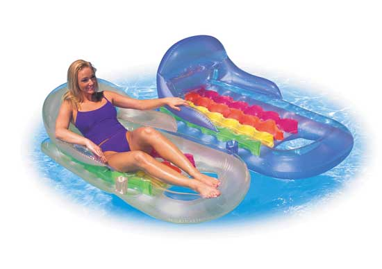 Inflatable Pool Lounge Chair Raft