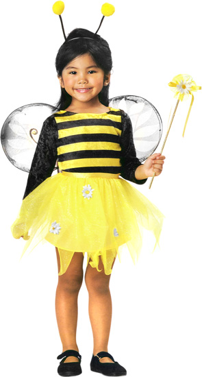 Toddler Daisy Bumble Bee Costume