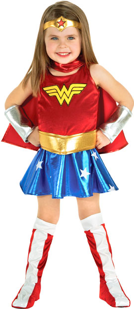 Toddler DLX Wonder Woman Outfit