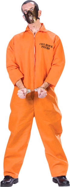 Adult Cell Block Psycho Costume
