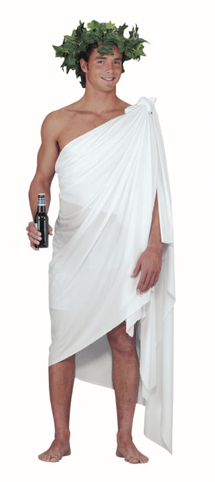 Adult Toga Easy Costume Set