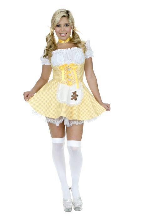 Sexy Costume of Goldilocks