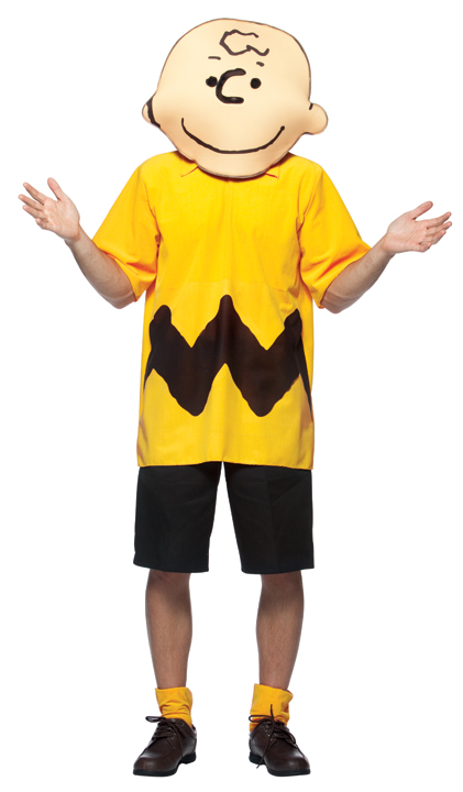 Adult Peanuts Gang Charlie Brown Costume