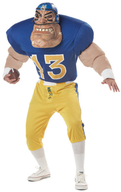 Adult Gridiron Goliath Football Costume